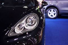 PORCHE on display Royalty Free Stock Images