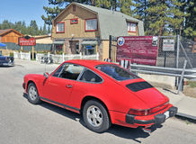 Porche 911 Royalty Free Stock Photo