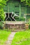 Porche rural de maison de vacances photo libre de droits