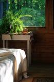 Porche rustique de sommeil photo stock