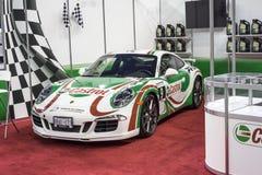 Porche samochód wyścigowy Fotografia Royalty Free