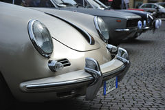 Porche vintage car in Verona, Italy Royalty Free Stock Images