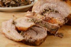 Porchetta pork roast Stock Image