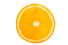 Porción anaranjada Imagen de archivo
