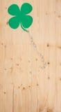 Porción de éxito en la madera Imágenes de archivo libres de regalías