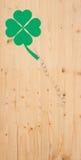 Porción de éxito en la madera Foto de archivo libre de regalías