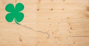 Porción de éxito en la madera Imagen de archivo