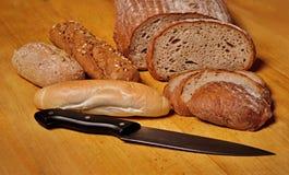Porción de artículos de panadería Fotos de archivo