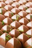 Porción de caramelos del chocolate Imagenes de archivo