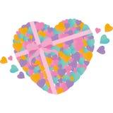 porción de corazón Imagen de archivo