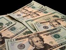 Porción de dinero Imagenes de archivo