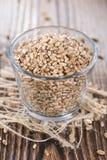 Porción de granos del trigo imagenes de archivo