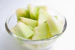 Porción de la ligamaza del melón Foto de archivo