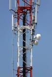 Porción de la señal del teléfono del arsenal de antena. Imagen de archivo libre de regalías