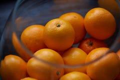 Porción de naranjas Foto de archivo libre de regalías