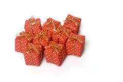 Porción de presentes Imagen de archivo libre de regalías