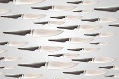Porción de textura del cuchillo Imagen de archivo