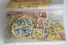 Porción de viejos sellos Imagen de archivo
