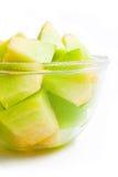 Porción del melón Imagenes de archivo