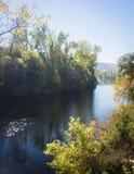 Porción del río Fotografía de archivo