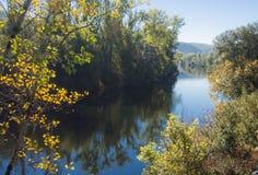 Porción del río Imagen de archivo libre de regalías