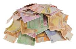 Porción de dinero Imágenes de archivo libres de regalías