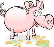 Porcin-porcin Image libre de droits