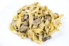 Porcini di funghi di Tagliatelle ai Fotografie Stock