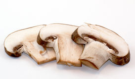 Free Porcini Mushroom Slices On White Background Royalty Free Stock Image - 20853386
