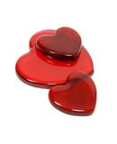 Porciones de amor Imagen de archivo libre de regalías