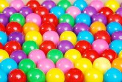Porciones de bolas de goma Foto de archivo