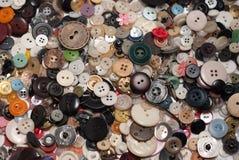 Porciones de botones dispersados stock de ilustración