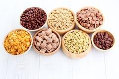 Porciones de cereales Imagen de archivo