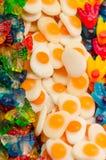 Porciones de dulces imagen de archivo libre de regalías
