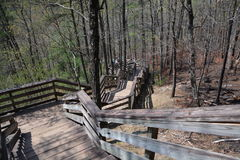 Porciones de escaleras Foto de archivo