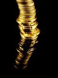 Porciones de euro Imagen de archivo libre de regalías