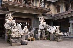 Porciones de figuras talladas piedra Imagen de archivo libre de regalías