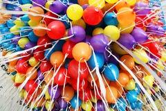 Porciones de globos Fotos de archivo libres de regalías