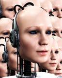 Porciones de las mujeres 4 de Robo stock de ilustración