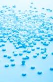 Porciones de píldoras Imágenes de archivo libres de regalías