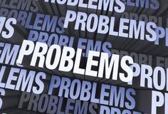 Porciones de problemas Fotografía de archivo