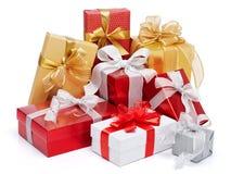 Porciones de regalos fotografía de archivo libre de regalías