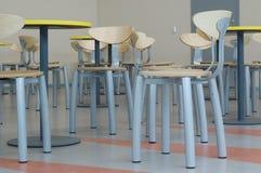 Porciones de sillas vacías Foto de archivo