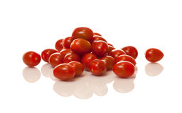Porciones de tomates del coctel Fotografía de archivo libre de regalías