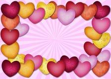 Porciones del corazón de corazón Foto de archivo libre de regalías