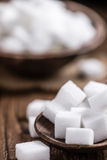 Porcja biały cukier Fotografia Royalty Free