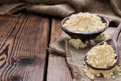 Porcja soi mąka zdjęcie royalty free