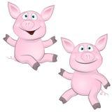 Porco alegre Imagem de Stock Royalty Free