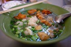 Porco Brain Soup Imagem de Stock