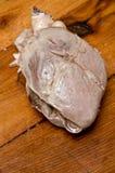 porco cucinato del cuore Fotografie Stock Libere da Diritti